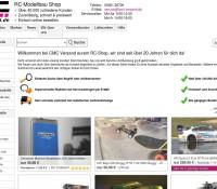 CMC Versand der R/C Modellbau Shop deutscher Online-Shop