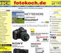 Weltweiter Versand für Fotokameras, Videocamcorder, Digitalkameras, Hifi-Artikel und Zubehör deutscher Online-Shop