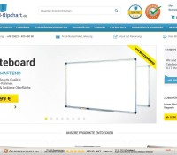 Whiteboards deutscher Online-Shop