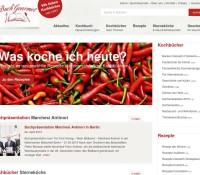 www.buchgourmet.com – der Kochbuch Spezialist : Neue und antiquarische Kochbücher aus aller Welt alles über Kochen Essen Trinken Wein deutscher Online-Shop