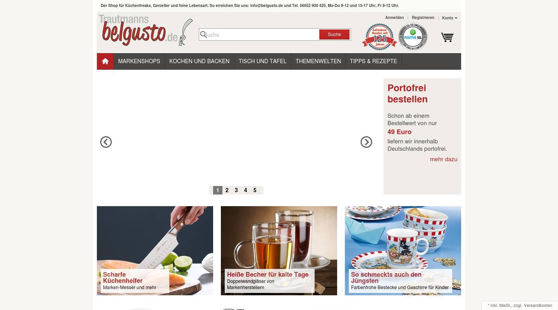 belgusto shop versand f r haushaltswaren und gastronomiebedarf haushalt k che und tisch. Black Bedroom Furniture Sets. Home Design Ideas
