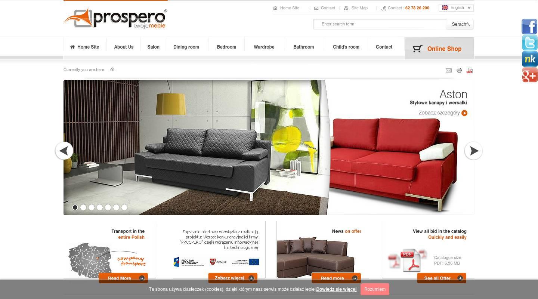 prospero p w zenon rabiega polnischer m belhersteller deals aktionen. Black Bedroom Furniture Sets. Home Design Ideas