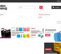Geschäft für Bürobedarf, Tinten und Toner polnischer Online-Shop Schreibwaren,