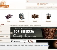 Coffee Online-Shop polnischer Online-Shop