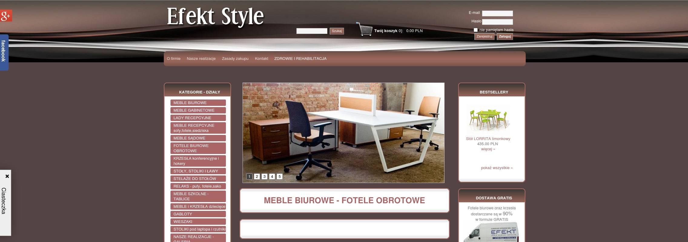 Buromobel Und Stuhle Rotary Effekt Art Polnischer Online Shop