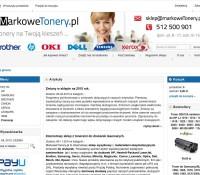Shop mit Tonern polnischer Online-Shop Schreibwaren,