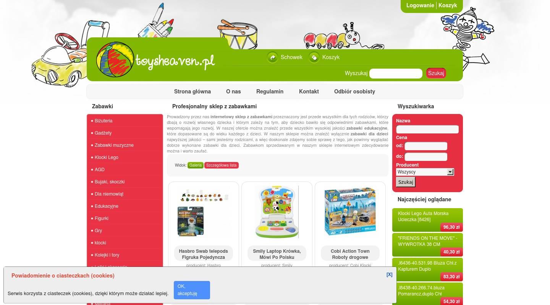 toysheaven warschau spielzeugladen polnischer online shop geschenke deals aktionen. Black Bedroom Furniture Sets. Home Design Ideas