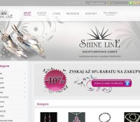 Glanz Linie Kristall Silberschmuck polnischer Online-Shop Schmuck & Uhren,