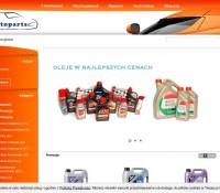 Autoparts polnischer Online-Shop Automotive,