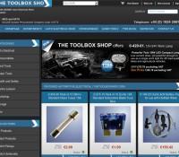 The ToolBox Shop store britischer Online-Shop für Werkzeuge und Heimwerken, Haus und Garten,