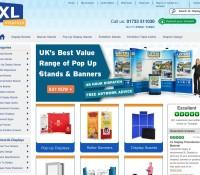 XL Displays store britischer Online-Shop für Schreibwaren,