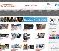 Battery Masters store britischer Online-Shop für Fotografie,