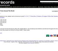 Encore Records store britischer Online-Shop für Musik,