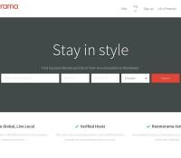 Roomorama – internationale Reise- und Hotelbuchungs-Website