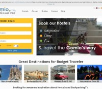 Gomio – internationale Reise- und Hotelbuchungs-Website