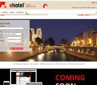 Ehotel – internationale Reise- und Hotelbuchungs-Website