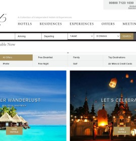 PreferredHotels – internationale Reise- und Hotelbuchungs-Website