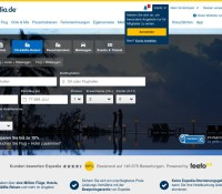 Expedia – internationale Reise- und Hotelbuchungs-Website