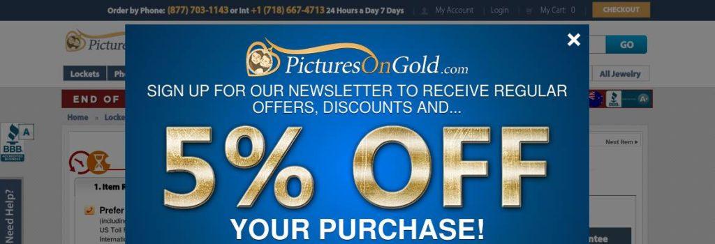 15% off 14K White Gold & Diamond Heart Locket