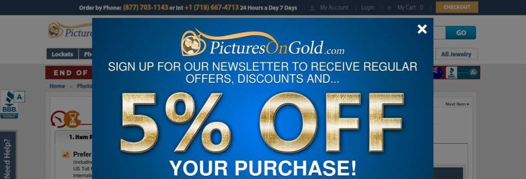 $30 off a 14k Gold Small Heart Photo Pendant