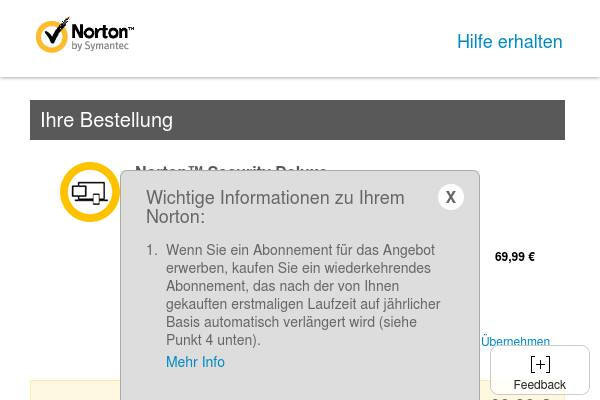 DE Promo - Norton Security Delexe (2 Jahre)